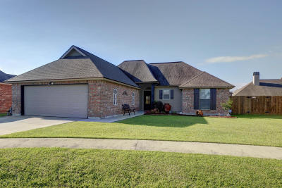 Carencro Single Family Home For Sale: 105 Wing Span Cove