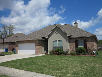 Carencro Single Family Home For Sale: 101 Meadowvale Drive