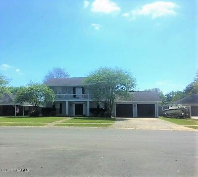 Eunice Single Family Home For Sale: 113 University Place