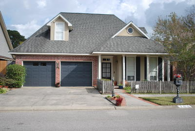 Lafayette Single Family Home For Sale: 106 Pericles