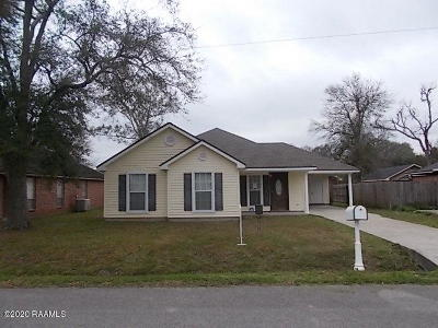 Iberia Parish Single Family Home For Sale: 710 Bergerie Street