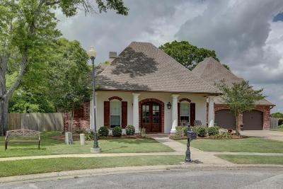 Broussard Single Family Home For Sale: 129 Diamond Creek Drive
