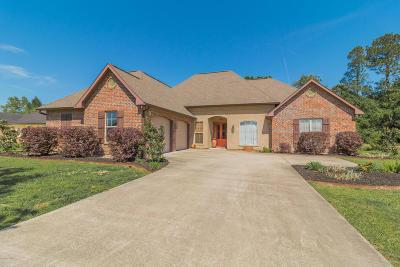 Crowley Single Family Home For Sale: 314 Azalea Drive