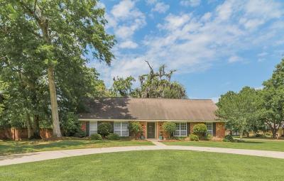 Lafayette Parish Single Family Home Active/Contingent: 200 Thibodeaux Drive