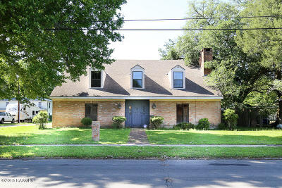 New Iberia Single Family Home For Sale: 830 Bank Avenue