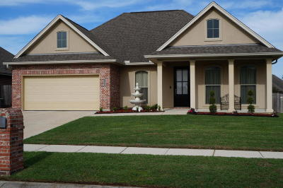 Broussard Single Family Home For Sale: 119 Still Waters Road