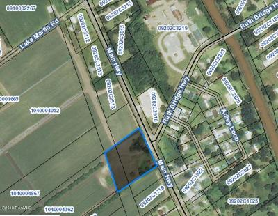 Breaux Bridge Residential Lots & Land For Sale: Tbd Hwy 31