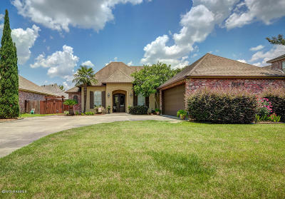 Lafayette Single Family Home For Sale: 112 Isaiah Drive