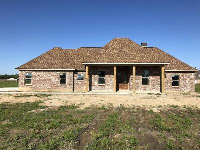 Opelousas Single Family Home For Sale: 134 Braeden Boulevard