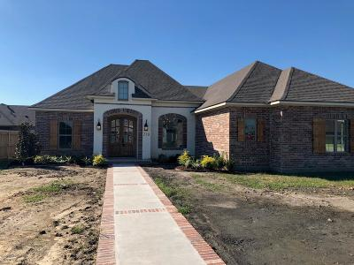 New Iberia Single Family Home For Sale: 218 Sugar Creek Lane
