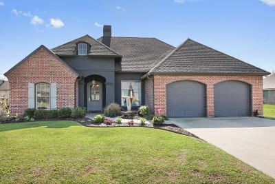 Carencro Single Family Home For Sale: 103 Manchac Road