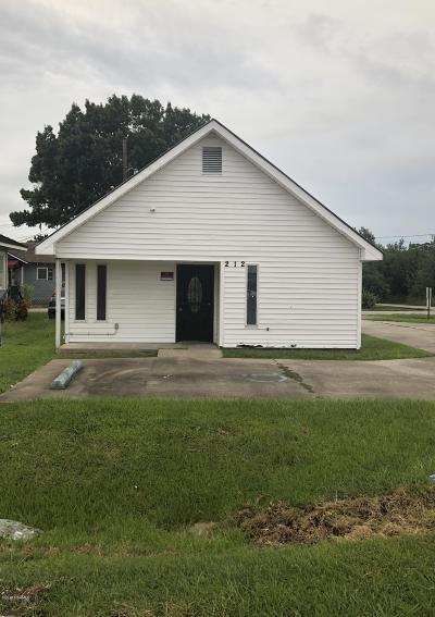 Lafayette Parish Commercial For Sale: 212 Johnston St