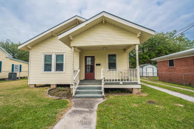 Jeanerette Single Family Home For Sale: 1814 Georgia Street