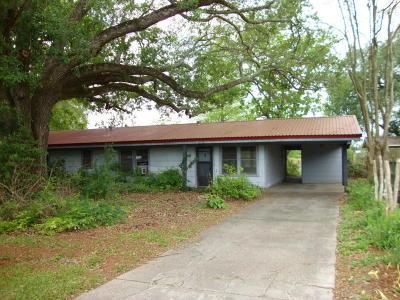 New Iberia Single Family Home For Sale: 2314 Louisiana