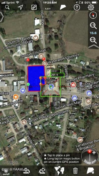 St Landry Parish Residential Lots & Land For Sale: 845 Napoleon Ave./Hwy 182 Avenue