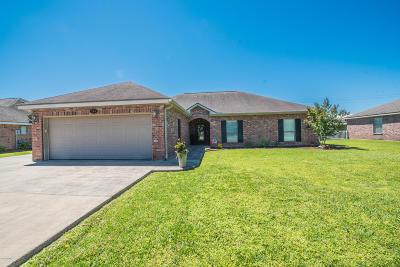 Broussard Single Family Home For Sale: 104 Papa Joe Drive