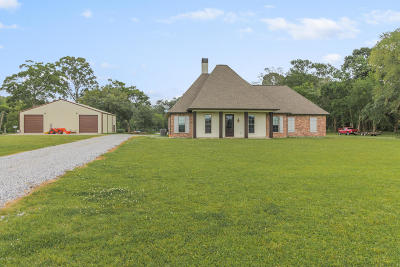 New Iberia Single Family Home Active/Contingent: 7006 Bull Island Road