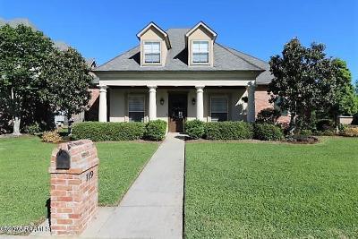 Lafayette Single Family Home For Sale: 119 Sauternes Circle