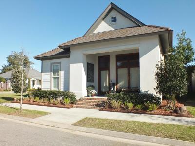 Lafayette Single Family Home For Sale: 110 Beaulac Lane