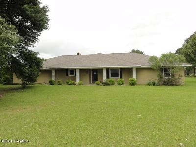 Single Family Home For Sale: 3055 Duralde Hwy