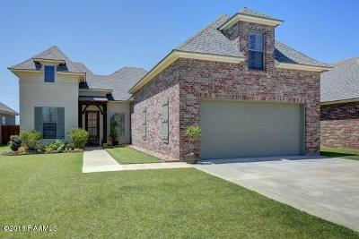Broussard Single Family Home For Sale: 119 Cane Creek Drive