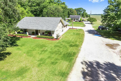 St. Martinville Single Family Home For Sale: 3369 Catahoula Hwy