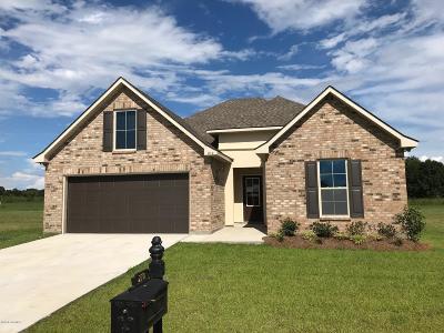 Duson Single Family Home For Sale: 210 Hunters Hill Drive