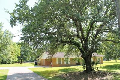 Abbeville Single Family Home For Sale: 16720 W La Hwy 330