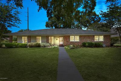Lafayette Single Family Home For Sale: 1212 Jeanne Street