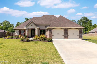Opelousas Single Family Home For Sale: 189 Bordelais Drive