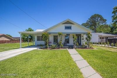 Breaux Bridge Single Family Home For Sale: 226 Rees Street