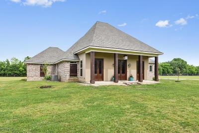 Duson Single Family Home For Sale: 411 La Maison Road