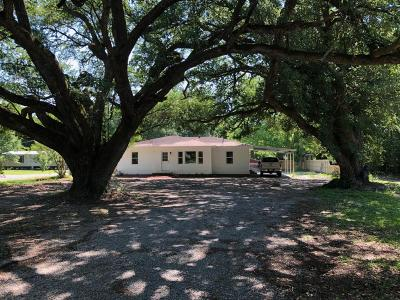 New Iberia Single Family Home For Sale: 4417 L Theriot Road