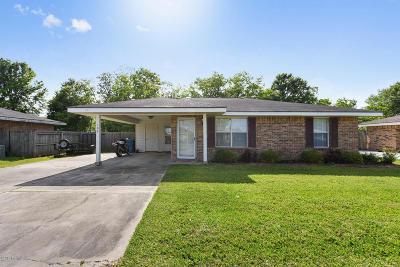Duson Single Family Home For Sale: 106 Ridge Crest Lane