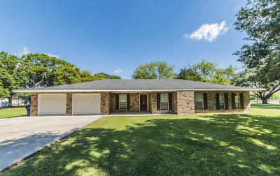 New Iberia Single Family Home For Sale: 2514 Migues Road