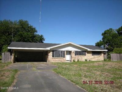 Carencro Single Family Home For Sale: 703 Mardi Gras Road