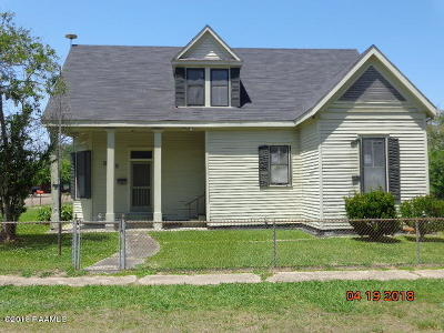 Jeanerette Single Family Home For Sale: 325 Kentucky Street