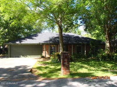 Lafayette Single Family Home For Sale: 128 Bickerton Drive