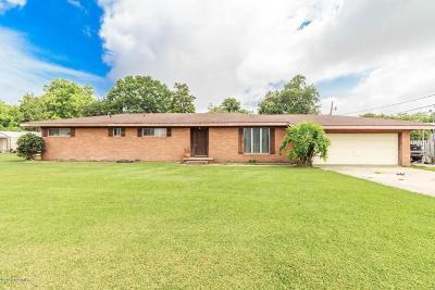 New Iberia Single Family Home For Sale: 4612 Coteau Road