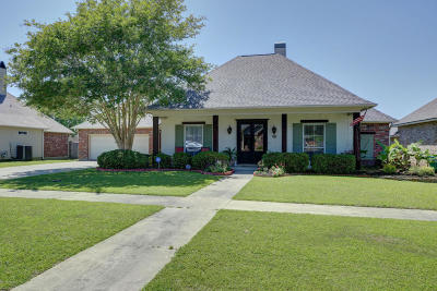 Youngsville Single Family Home Active/Contingent: 112 Cresthill Drive
