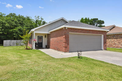 Carencro Single Family Home For Sale: 128 Bottle Brush Lane