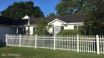 Abbeville  Single Family Home For Sale: 1630 Praire Avenue