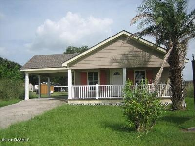 Jeanerette Single Family Home For Sale: 102 Caribbean Drive