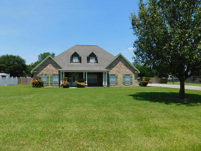 Opelousas Single Family Home For Sale: 297 Meghan Drive