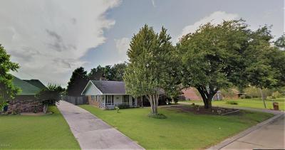 Iberia Parish Single Family Home For Sale: 513 Emmeline Street