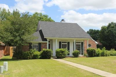 Broussard Single Family Home For Sale: 507 Emancipation Drive