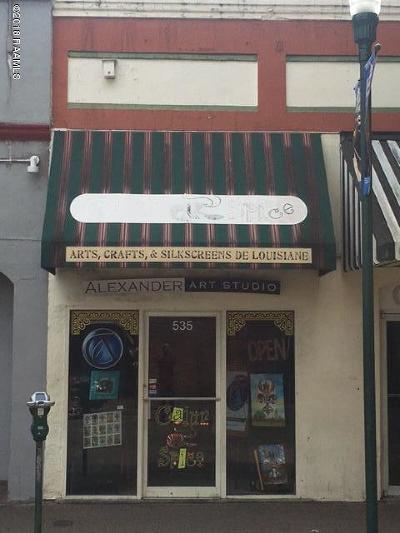 Lafayette Commercial For Sale: 535 Jefferson Street