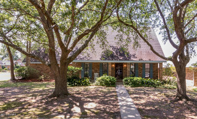Lafayette Parish Single Family Home Active/Contingent: 201 D'evereux Drive