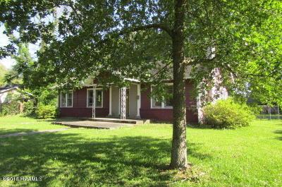 Eunice Single Family Home For Sale: 521 Park Avenue