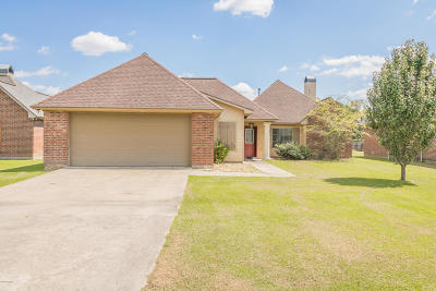 Breaux Bridge Single Family Home For Sale: 1119 Jules Broussard